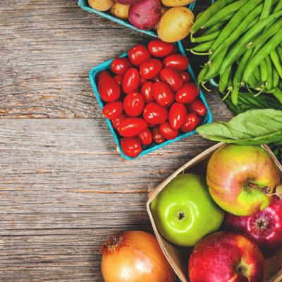 food vegetables fruit