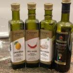 flavoured oils and vinegar